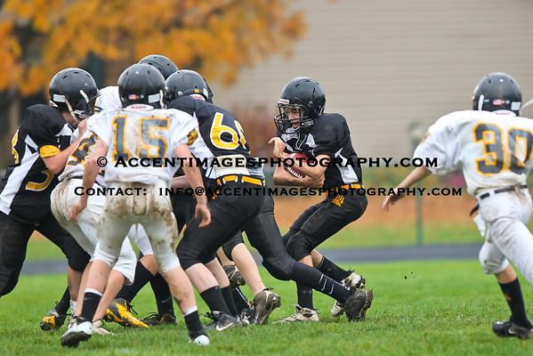7th Grade Football vs Jones 10/12