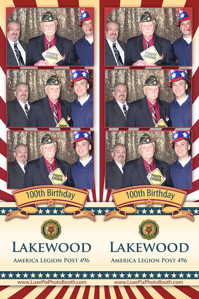 2019.03.23 Lakewood America Legion Post 496 100th Birthday