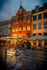 Bicycle in Nyhavn in the Morning