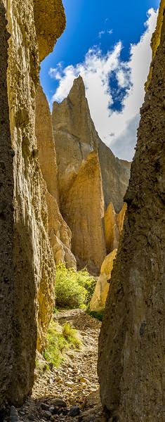 «Clay Cliffs» bei Omarama