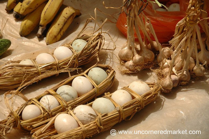 Eggs at Yuanyang Market - China