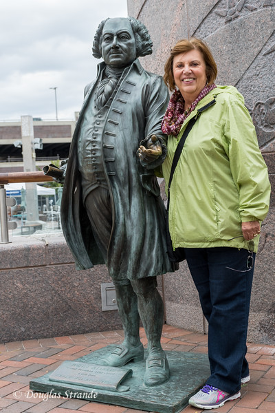 Louise with John Adams