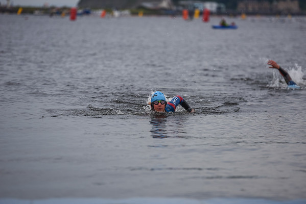 Cardiff Triathlon - Wave 1 Blue Hats