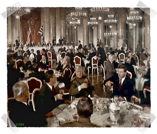 My dinner at the Kremlin