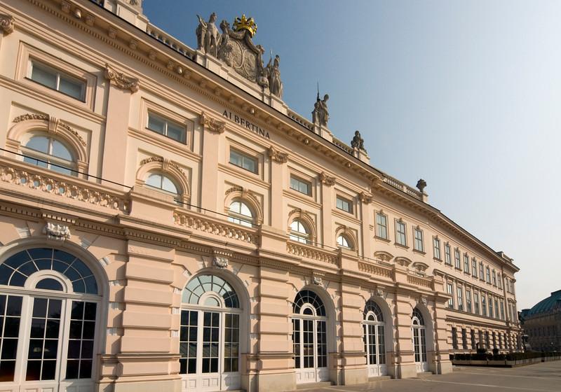 Building of Albertina Museum, Vienna, Austria