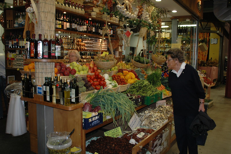 Florence has a wonderful indoor market