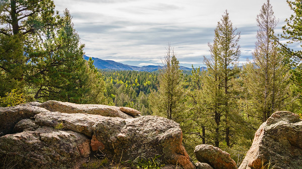 Mueller State Park - Turkey Cabin Overlook 09-19-2017