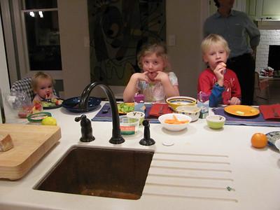 Lamb Family Visit 10-25-2010