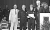 IPD Graduation, April 28, 1988, Img. 13, with Mayor Hudnut, Richard I. Blankenbaker, Paul A. Annee