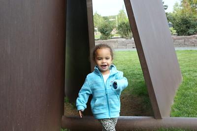 Minneapolis Sculpture Garden with NatNat