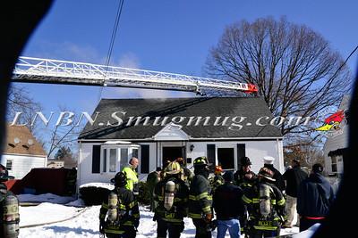 Uniondale F.D. House Fire 711 Dale Place 2-18-15