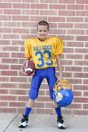 Claysburg Little Bulldog Football 2016