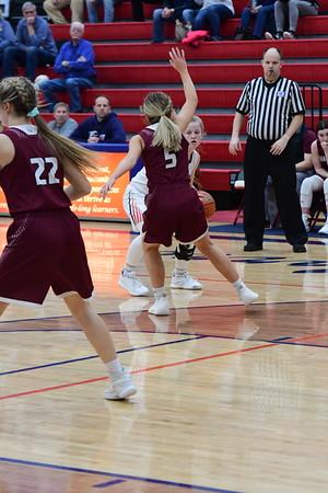EMC Varsity Girls Basketball vs Waverly
