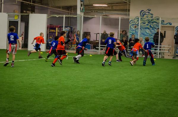 Keagan - Flag Football - 2Feb15