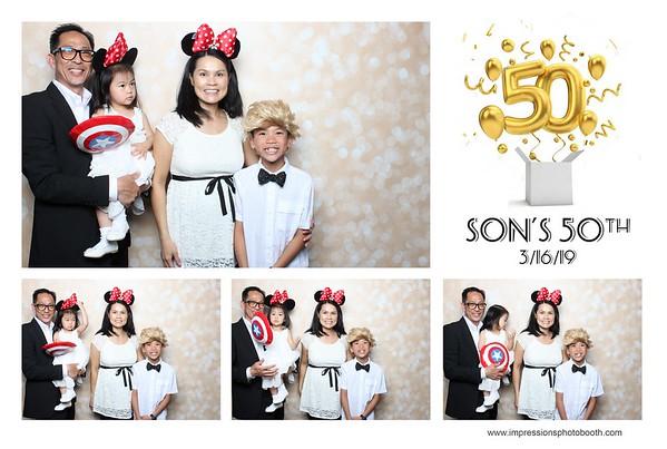 Son 50th Birthday!
