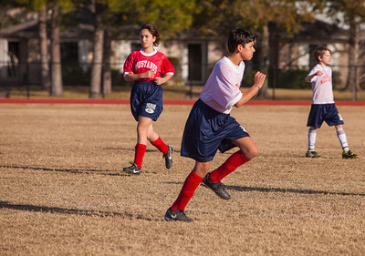 Briarwood Jr. High Soccer - Jan. 17, 2014