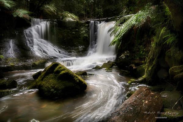 Waterfalls rivers and streams