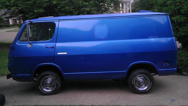 Jarrett's 67 Chevy Handivan