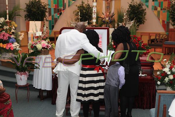 Antoinette, Mballa Eyombo Funeral