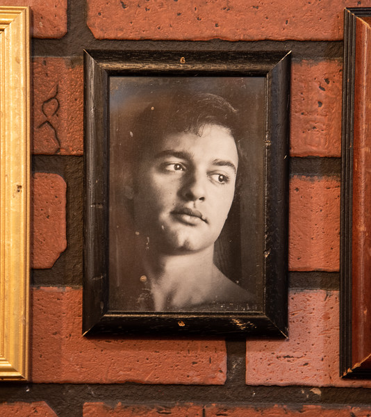 Sal Mineo; another great to remember.  I wish I could have taken so many images of the pictures that hung on the walls...