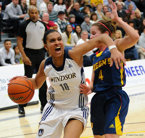 OUA Championship WBBall March 8, 2014