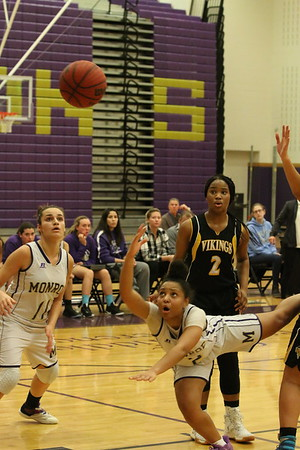 Dec. 19, 2017 Lady Falcon Basketball vs SBHS Vikings