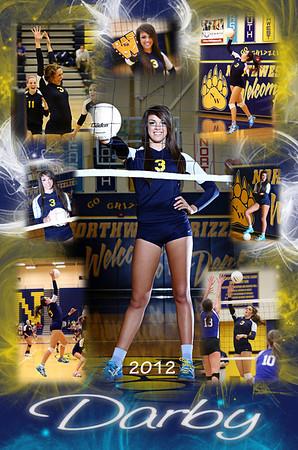 2012 Vball Senior Darby