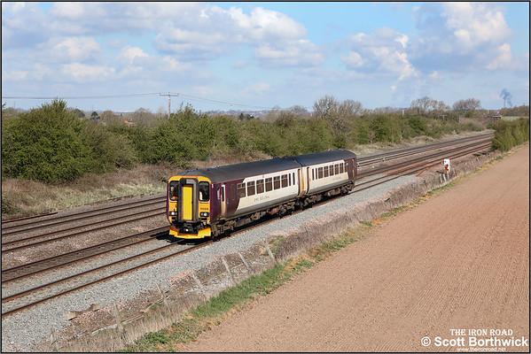 Class 156 (Metro Cammell Super Sprinter: East Midlands Railway (EMR)