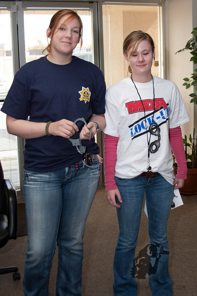 Alyssa & Brittney arrive to arrest me!