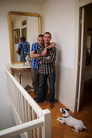 Thuis bij… Norbert Splint & Philippe Brandt