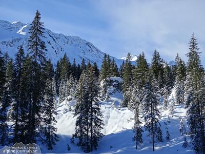 Steinmandl ski tour, Kleinwalsertal 2015-03-03