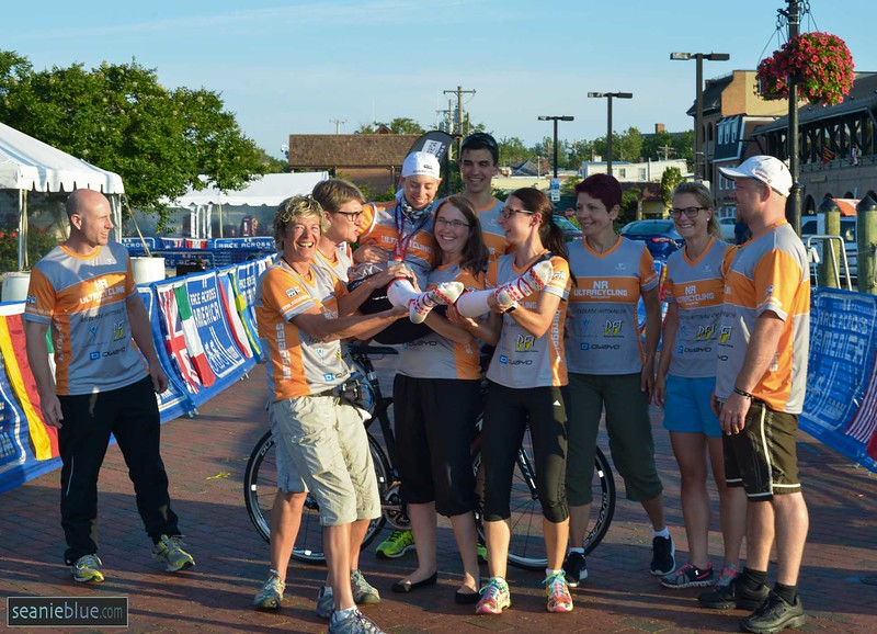 Scenes from the TAAM finish line in Annapolis, 2016, shot by Seanie Blue