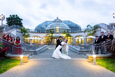 Matt + Amy: Wedding Preview at Phipps Conservatory