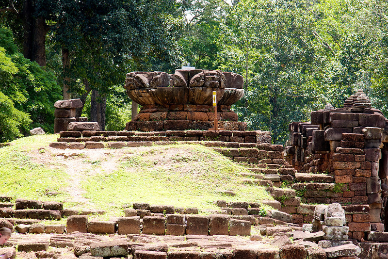 The Terrace of the Leper King and the Terrace of the Elephants