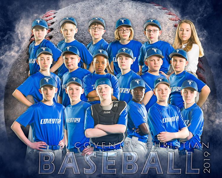Dream Team Baseball Team Template