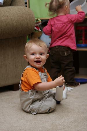 Jonah - 11 months old - September 2007