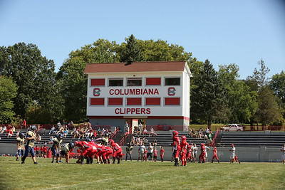 Game Action 08242013 at Columbiana