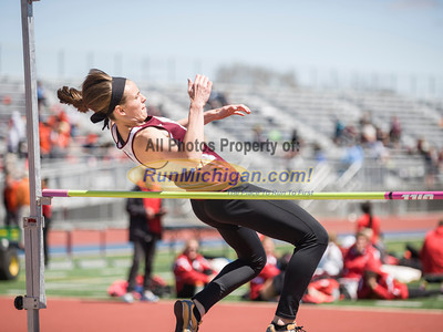 Women's High Jump - 2014 Ernie Mousseau Invite
