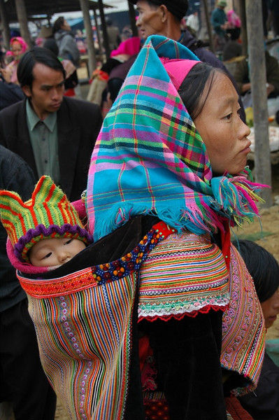 Mother and Child - Bac Ha, Vietnam