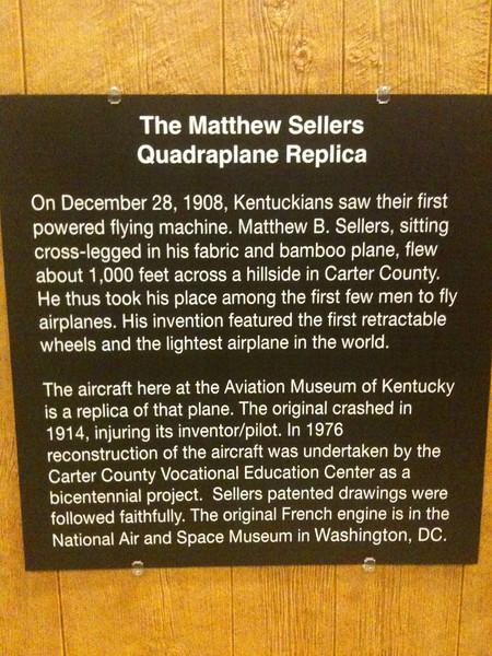 045 Kentucky Aviation Museum exhibit