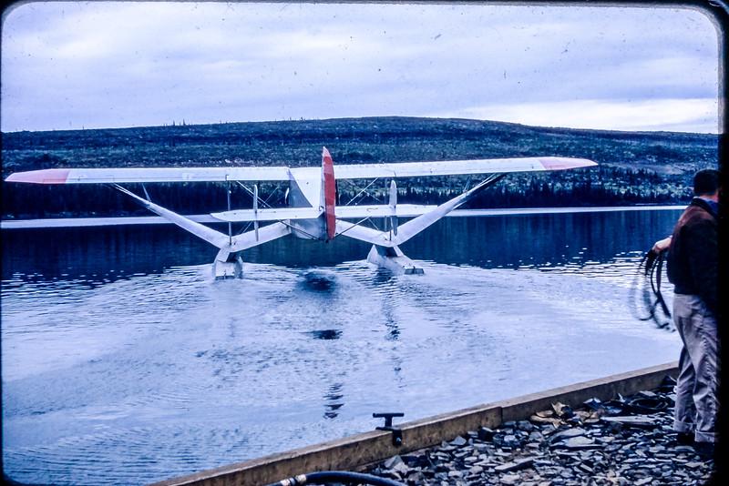 Bellanca Airbus de la compagnie Transair (compagnie de l'ouest Canadian) pour la construction Mid-Line Sherfferville.