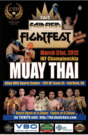 FAIRFIELD FIGHT FEST MUAY THAI