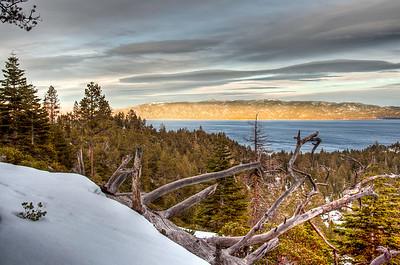 Tahoe Snow Scenes