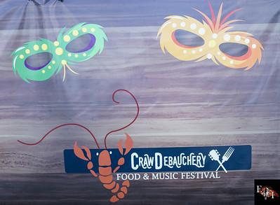 Crawdebauchery Festival 2016 general crowd shots day one