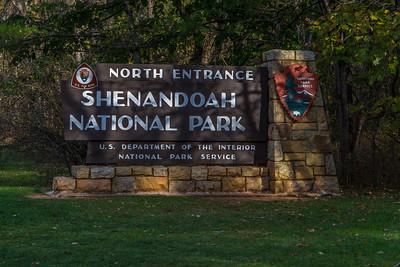 Shenandoah National Park - Skyline Drive 2015