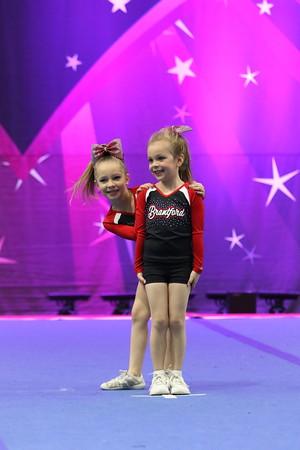 Brantford Cheer  Glow Girls - Tiny Duo 1