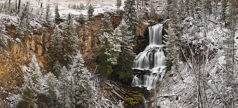 Silent Serenity - Undine Falls (Yellowstone National Park)