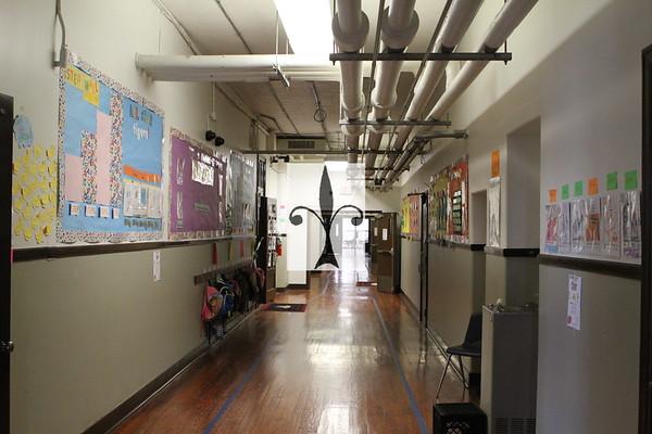 DOUGLAS SCHOOL CAFETERIA /ROOM/ HALLWAY