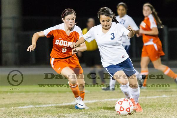 Boone Braves @ Freedom Patriots Girls JV Soccer - 2012