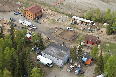 AERIAL VIEWS OF THE LEARNING FARM